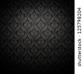 grunge  dark wallpaper. | Shutterstock . vector #125798204