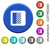 color gradient round color... | Shutterstock .eps vector #1257982681