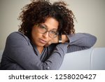 black woman can't get over... | Shutterstock . vector #1258020427