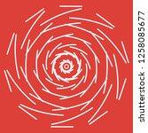 mandala vector illustration.... | Shutterstock .eps vector #1258085677