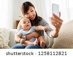 family  technology and... | Shutterstock . vector #1258112821