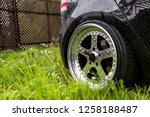 aluminum forged wheels on the... | Shutterstock . vector #1258188487