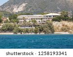 agios sostis  greece 3 july... | Shutterstock . vector #1258193341