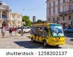 odessa  ukraine july 6  2018... | Shutterstock . vector #1258202137