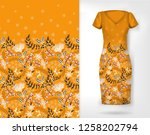 vertical seamless fashion... | Shutterstock .eps vector #1258202794