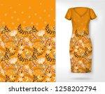 vertical seamless fashion... | Shutterstock .eps vector #1258202794