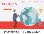 modern flat design isometric... | Shutterstock .eps vector #1258273324