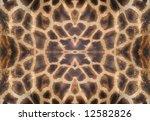 Pattern Made Of Giraffe Skin