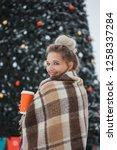 winter holidays  hot drinks ... | Shutterstock . vector #1258337284