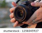 weapon of photographer | Shutterstock . vector #1258345927