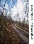 Country pathway - stock photo