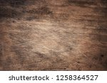 old grungy rough wood texture... | Shutterstock . vector #1258364527