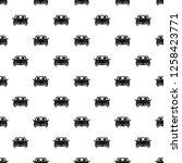 front car pattern seamless...   Shutterstock . vector #1258423771