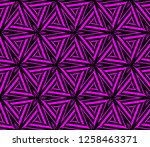geometric shape abstract vector ... | Shutterstock .eps vector #1258463371