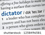 dictionary definition of the... | Shutterstock . vector #1258496581