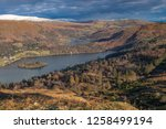 helm crag is a fell in the... | Shutterstock . vector #1258499194