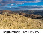 helm crag is a fell in the... | Shutterstock . vector #1258499197