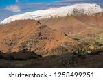 helm crag is a fell in the... | Shutterstock . vector #1258499251
