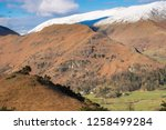 helm crag is a fell in the... | Shutterstock . vector #1258499284