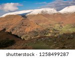 helm crag is a fell in the... | Shutterstock . vector #1258499287
