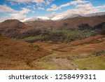 helm crag is a fell in the... | Shutterstock . vector #1258499311