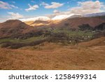 helm crag is a fell in the... | Shutterstock . vector #1258499314