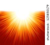 Sunburst Rays Of Sunlight...