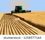 Combine Harvester In...
