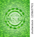 unusually green emblem with... | Shutterstock .eps vector #1258657921