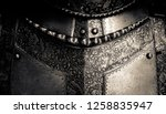 Detail of a the breastplate on...
