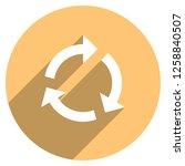 arrow sign reload  refresh ... | Shutterstock .eps vector #1258840507