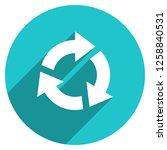 arrow sign reload  refresh ... | Shutterstock .eps vector #1258840531