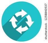 arrow sign reload  refresh ... | Shutterstock .eps vector #1258840537
