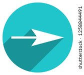 arrow sign direction icon in... | Shutterstock .eps vector #1258844491