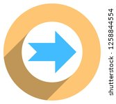 arrow sign direction icon in... | Shutterstock .eps vector #1258844554
