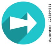 arrow sign direction icon in... | Shutterstock .eps vector #1258844581