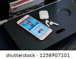 kuala lumpur  malaysia   crica... | Shutterstock . vector #1258907101