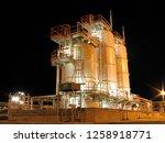 in amenas gas plant... | Shutterstock . vector #1258918771