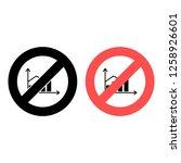 graph  chart ban  prohibition...