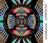 3d render of plastic background ...   Shutterstock . vector #1258931767