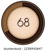 vintage style 68 round progress ...