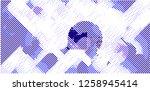 abstract vector background dot... | Shutterstock .eps vector #1258945414