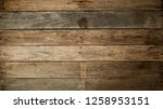 wood old plank vintage texture... | Shutterstock . vector #1258953151
