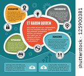 infographic concept... | Shutterstock .eps vector #125900381