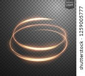 glowing spiral on transparent... | Shutterstock .eps vector #1259005777