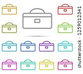 tool box icon in multi color....