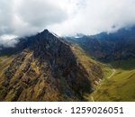 mountain top of peruvian andes... | Shutterstock . vector #1259026051