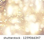christmas background with... | Shutterstock . vector #1259066347