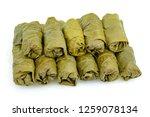 sarma dolmades stuffed vine... | Shutterstock . vector #1259078134
