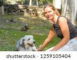 lugano  switzerland   11... | Shutterstock . vector #1259105404